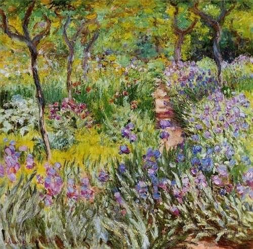Claude Monet - Garden at Giverny, 1899-1900