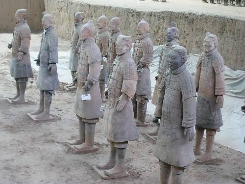 Clay warriors