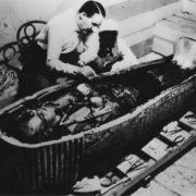 Coffin of pharaoh
