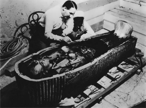 Coffin of pharaoh