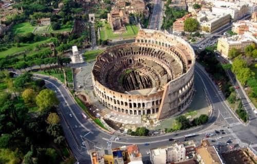 Picturesque Coliseum