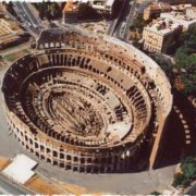 Coliseum from the air