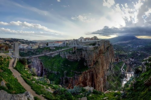 Constantine is the capital of Constantine Province in north-eastern Algeria