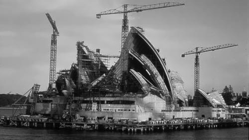 Construction of Opera House