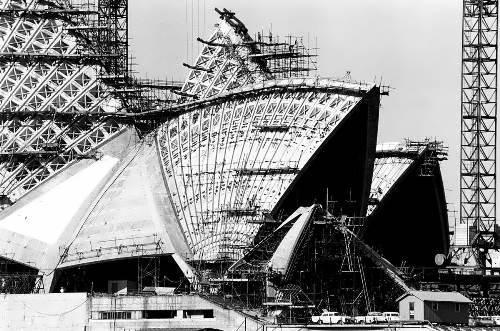 Construction of Opera House