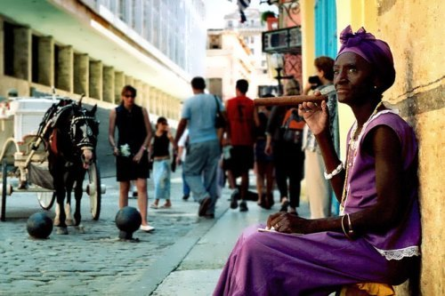 Famous Cuban cigar