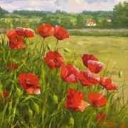 Dmitry Levin. Poppies near Warsaw, 2008