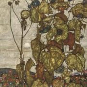 Egon Schiele. Faded sunflowers