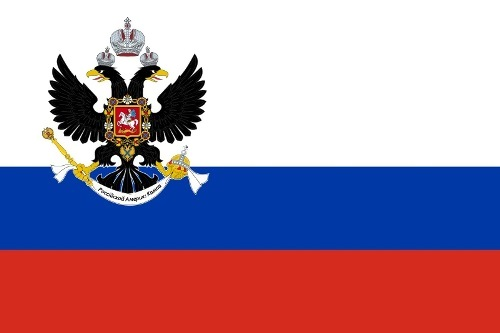 Flag of Russian Alaska