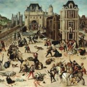 Fransois Dubois. Bartholomew's massacre