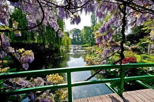Garden of Claude Monet in Giverny