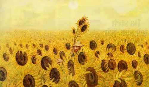 Gerhard Glick. Sunflowers
