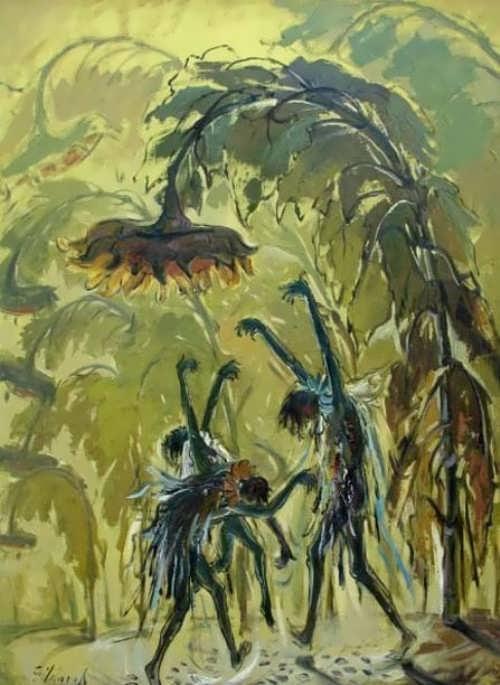 Gildaro Antezana. Sunflower Dance