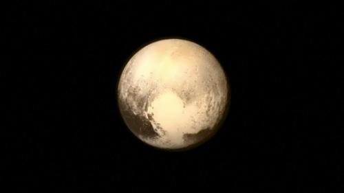 Gorgeous Pluto