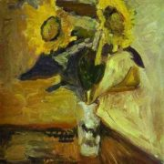 Henri Matisse. Vase of Sunflowers, 1898