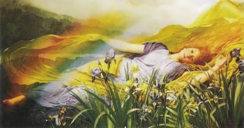 Iris - Goddess of the rainbow. Walter Savage Cooper