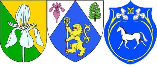 Iris on the coat of arms