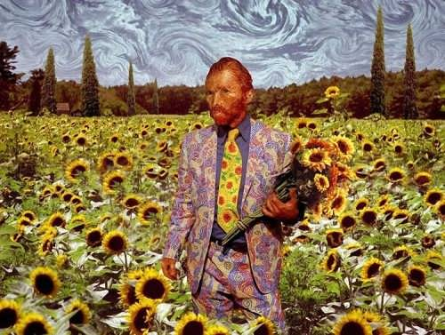 J. K. Potter. Vincent - an usual take on Van Gogh's style