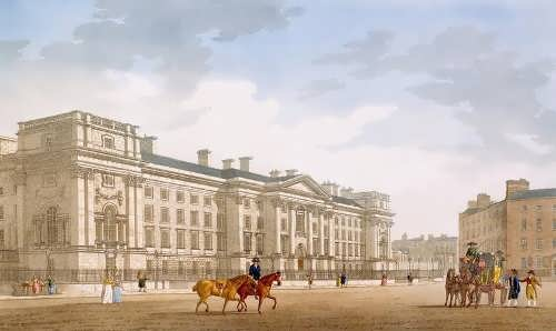 James Malton.Trinity College, Dublin, 1793