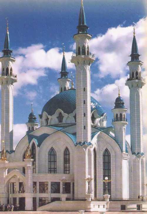 Stunning Kul Sharif Mosque