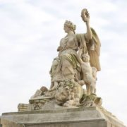 La Victoire sur l'Espagne Marsy Girardon Versailles