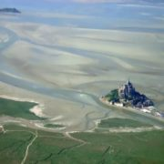 Mont Saint-Michel from the air