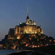Mont Saint-Michel, island fortress