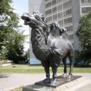 Monument to camel