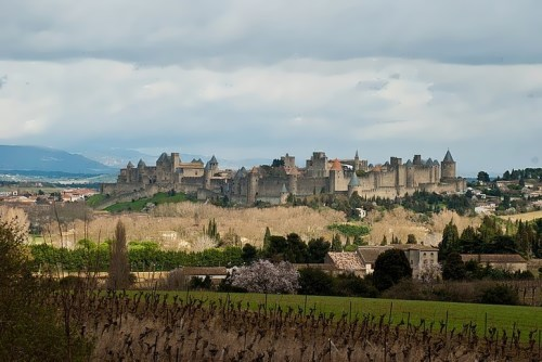Old city of Carcassonne