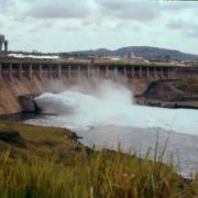 Owen Falls Dam is a hydroelectric power station that supplies most of the electricity in Uganda