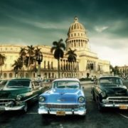 Retro cars in Havana