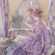 Robert Reid - The violet kimono