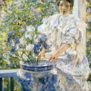 Robert Reid - Woman on a Porch