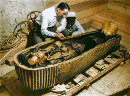 Royal sarcophagus