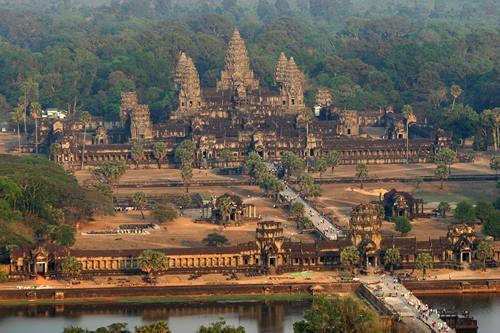 Stunning temple