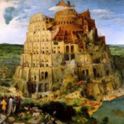 The Tower of Babel. Brueghel the Elder, 1563