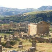 The ancient Roman city of Djemila