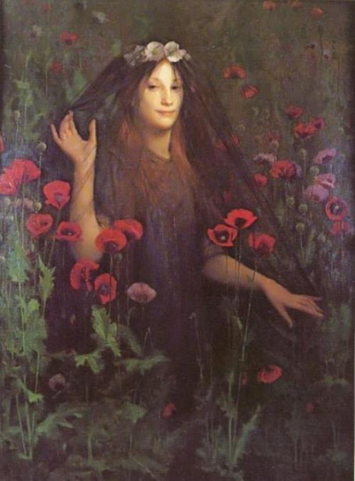 Thomas Cooper Gotch. Death the Bride