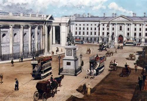 Trinity College Dublin. 1905