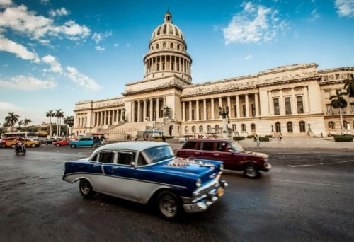 USSR car in Havana