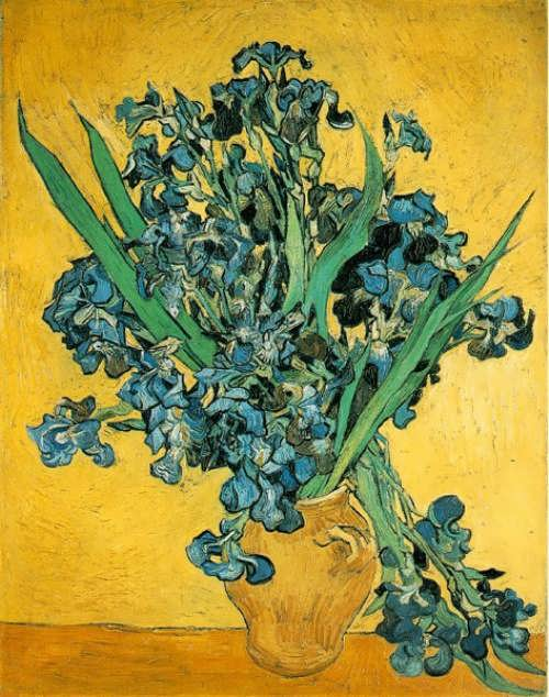 Vincent Van Gogh - Irises. Saint-Remy, May 1890