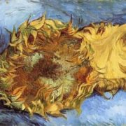 Vincent Van Gogh. Ripe sunflower