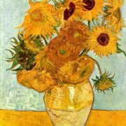 Vincent Van Gogh. Sunflowers