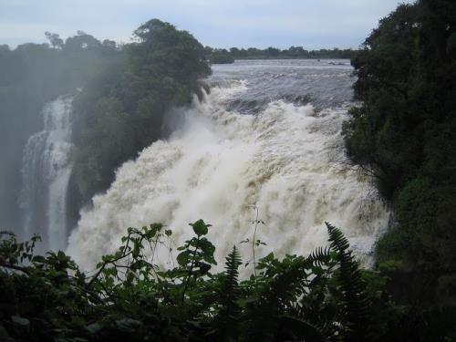Waterfalls in Botswana