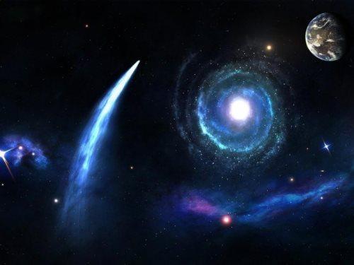 Amazing comet