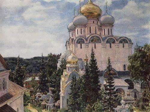 Apollinariy Mihaylovich Vasnetsov. Novodevichy Convent, 1926