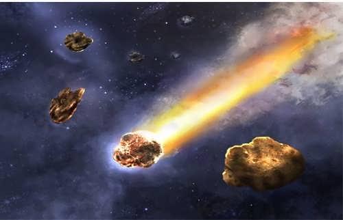 Attractive comet
