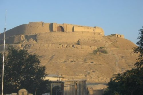 Bala Hissar - an ancient fortress