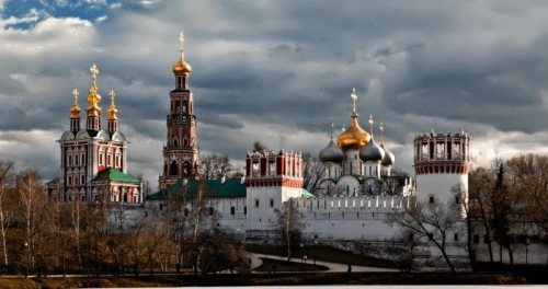 Beautiful Novodevichy Convent