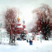 Bilyaev Roman. It's a Sunday afternoon. Moscow. Novodevichy Convent